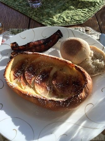 Los Gatos Bed & Breakfast: breakfast day #2