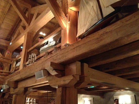 Cap Horn: Interieur du restaurant