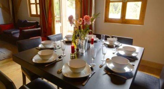 Chalet Cretet : Dining Area