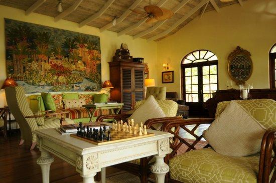 Bequia Beach Hotel Luxury Boutique Hotel & Spa: Reception room