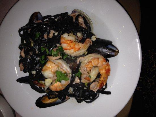 Pasta And...: Black Fettucini Pescatore