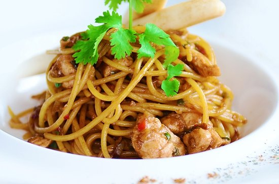 Route 55 Chicken Teriyaki Pasta