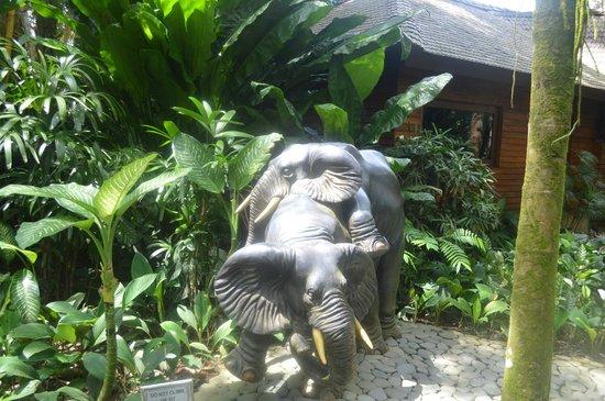 Elephant Safari Park & Lodge: statue