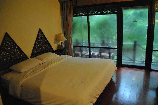 Lampang River Lodge: La stanza