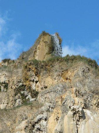 Terme Bagno Vignoni: общественный термальный источник