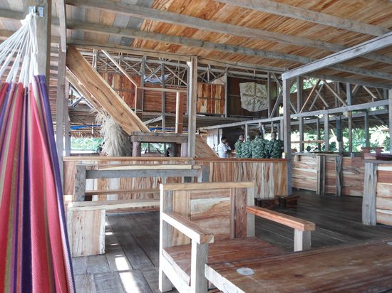 Kurupira Floating Cabin Amazonas : restaurante