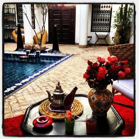 Origin Hotels Riad El Faran: Inside of Riad