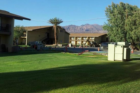 Furnace Creek Inn and Ranch Resort: Hotelanlage