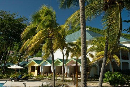 Bequia Beach Hotel: Pool Cabanas