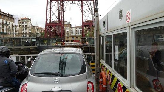 Vizcaya Bridge : もうすぐ着きます