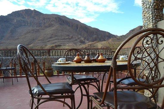 Maison d'Hote Valentine : La terrasse