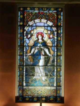 St. Mary's Pro-Cathedral: Stain Glass Window
