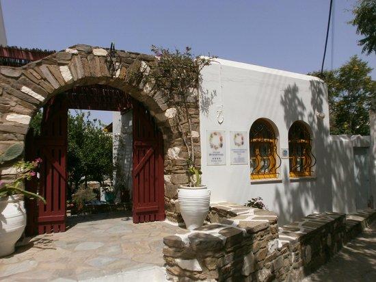 Hôtel Aegean Village : Entrée principale de l'hôtel