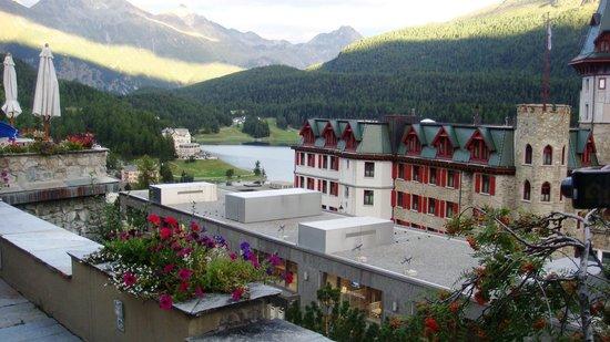 Crystal Hotel: Vista da encantadora St Moritz