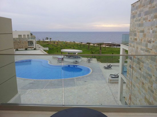 Amphora Hotel & Suites: The view from the room balcony