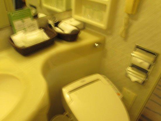 Keio Plaza Hotel Tokyo: トイレ