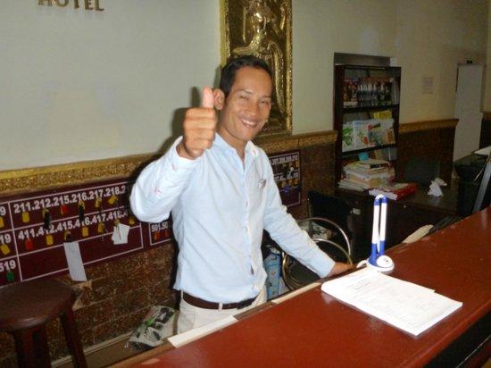 Angkor International Hotel: Manager