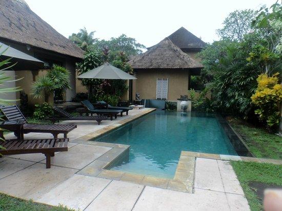 The Sungu Resort & Spa: Separate pool outside the deluxe villas