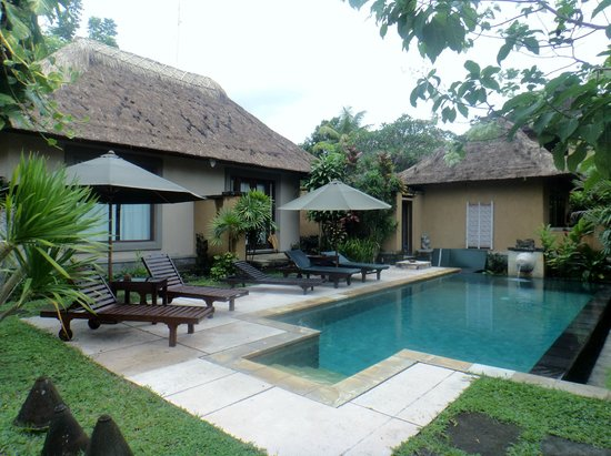 The Sungu Resort & Spa: Separate pool outside the deluxe villas