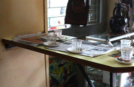 Tomoca table haute