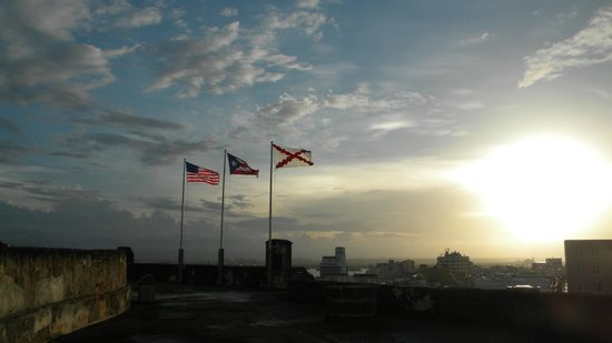Castillo de San Cristobal: New World Sunset