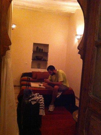 Riad Zahr: Habitación