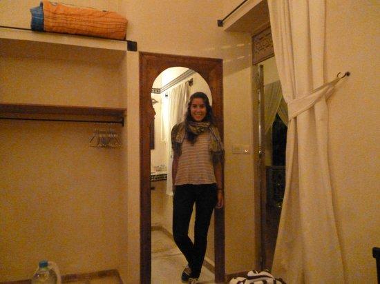 Riad Zahr: Puerta del baño