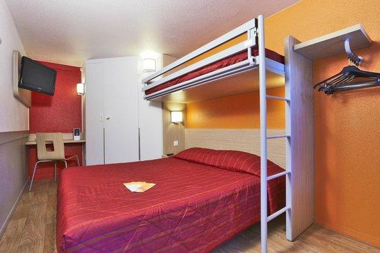 Premiere Classe Bordeaux Ouest - Eysines : chambre triple