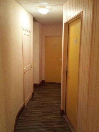 Hotel de la Gare : corridoio