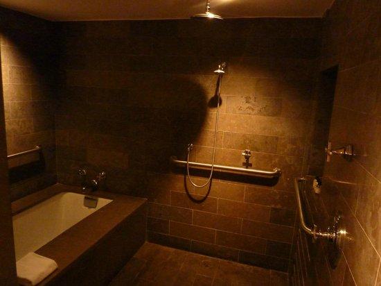 Park Hyatt Washington : Shower and Bath