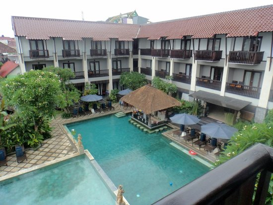 The Lokha Legian: View from room 318!