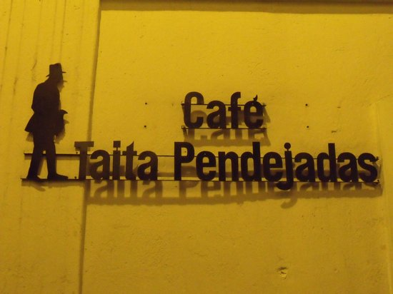 Calle La Ronda: Place to cafe and some empanadas