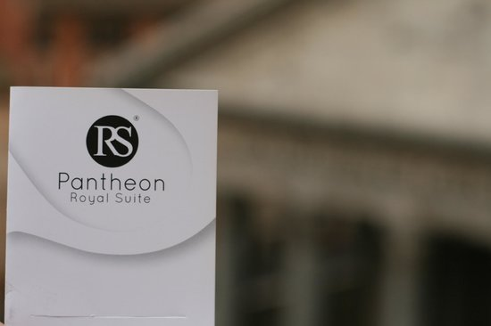 Pantheon Royal Suite: Hotel Logo