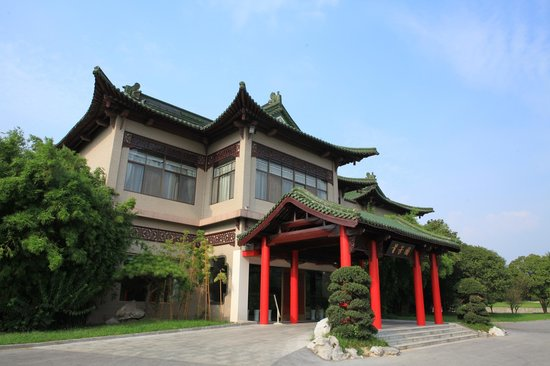 Yangzhou State Guesthouse : nice building in Hotel