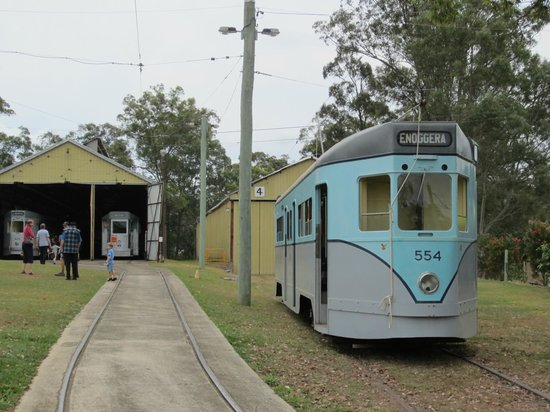 Brisbane Tramway Museum: Phoenix Tram 554 - Last of the Line