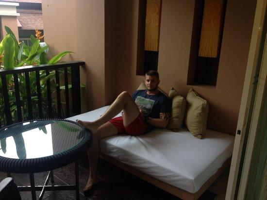 Pullman Phuket Panwa Beach Resort: Great view for 5 star hotel........