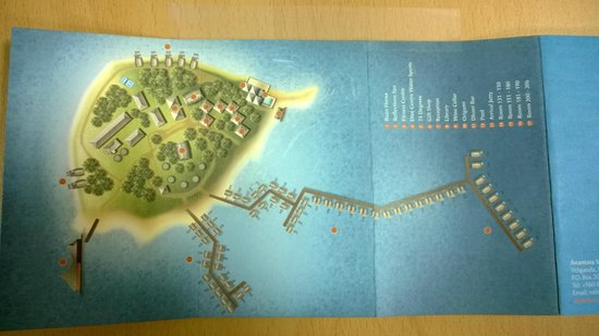 Anantara Veli Maldives Resort Map Of