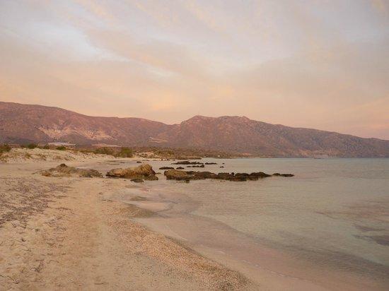 Elafonisi Resort by Kalomirakis Family: Vue de la plage à Elafonissi
