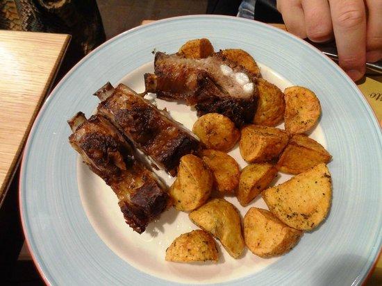 La Spada: Свиные рёбра с картошкой