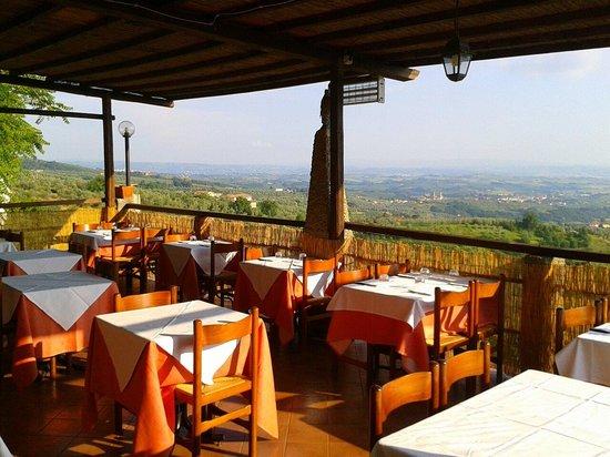 Il Castaldo : Terrazza panoramica