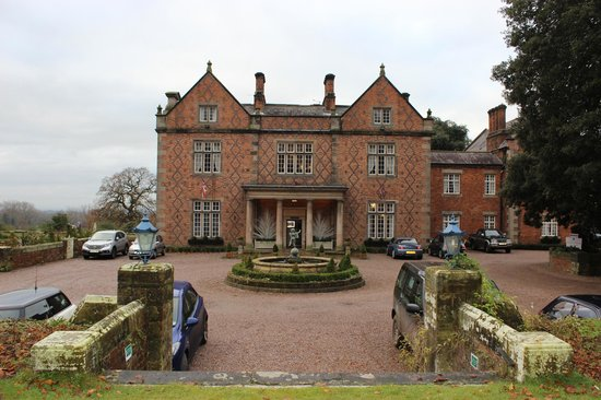 Front of Willington Hall Hotel