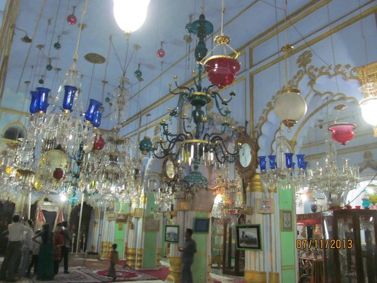 Chhota Imambara: Inside the imambara