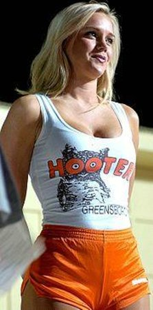 Hooters of Manhattan: Hooters girl
