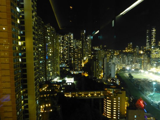 Crowne Plaza Hotel Hong Kong Causeway Bay: View from Bar on 28th Floor