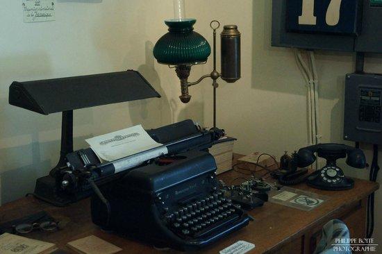 Magasin General Historique Authentique 1928 : Le bureau du directeur