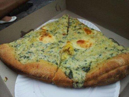 Artichoke Pizza : pizza à l'artichaud