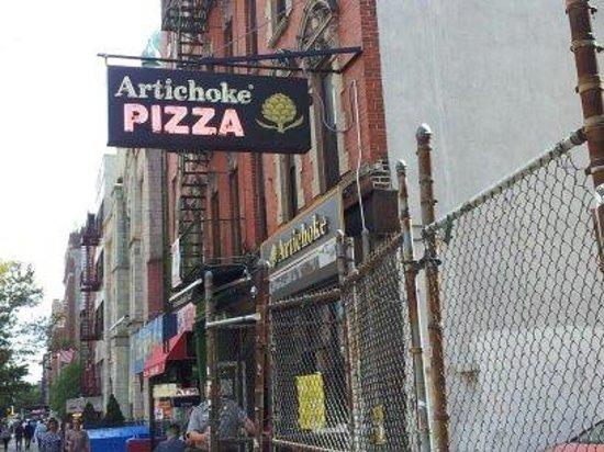 Artichoke Pizza : artichoke's pizza