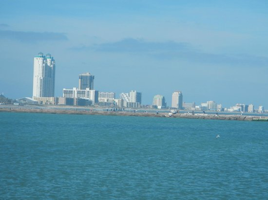 Brownsville, Teksas: View Of San Padre Isand