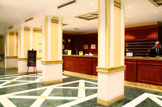 Grand Hotel Fleming : Hall dell'Hotel