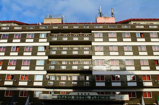 Grand Hotel Fleming : Facciata dell'Hotel